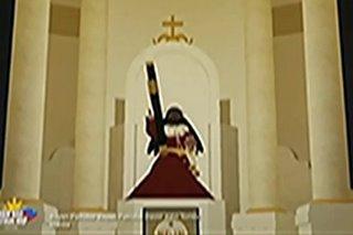 Grupo ng kabataan gumawa ng virtual 3D replica ng Poong Nazareno, Quiapo Church