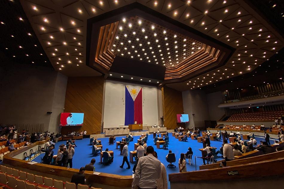 Panukalang 2022 budget isinalang sa plenaryo ng Kamara
