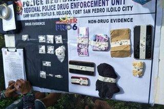 P500-K halaga ng 'shabu' kumpiskado, 3 timbog sa Iloilo drug bust