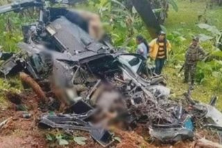 Air Force grounds all Huey helicopters following Bukidnon crash