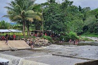 Mga naligo sa ilog sa Davao City hinuli