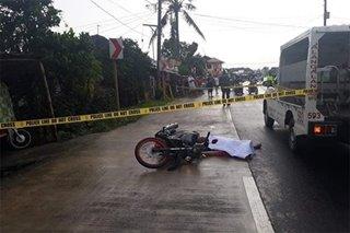Barangay kapitan patay sa pamamaril sa Leyte