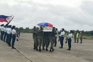 Labi ng isa sa mga piloto ng helicopter na bumagsak, dumating na sa Cagayan