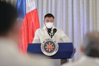 Duterte need not explain taking COVID-19 vaccine in private: spokesman