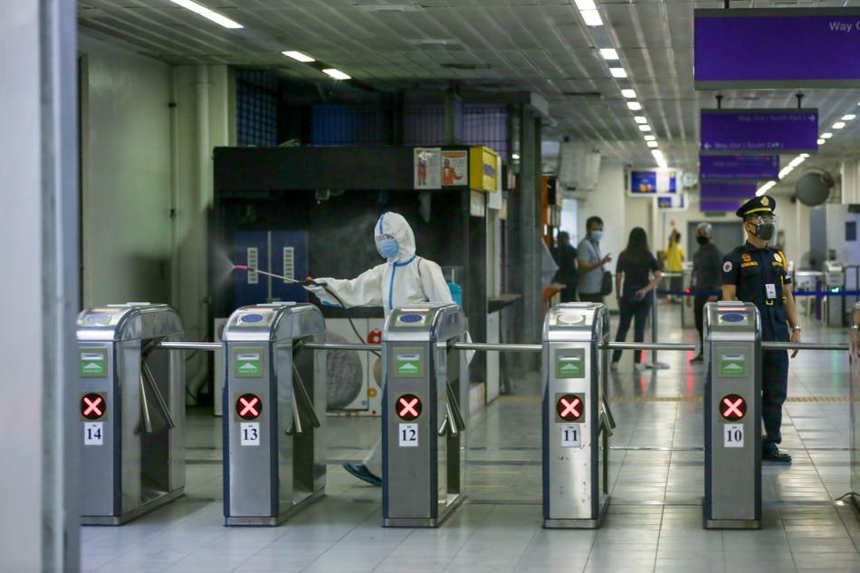 LRT-2 Santolan station reopens in new normal