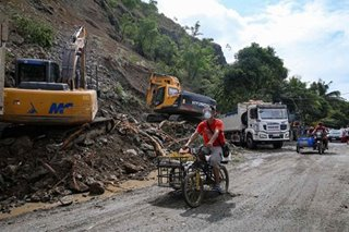 Authorities clear Rodriguez road after landslide
