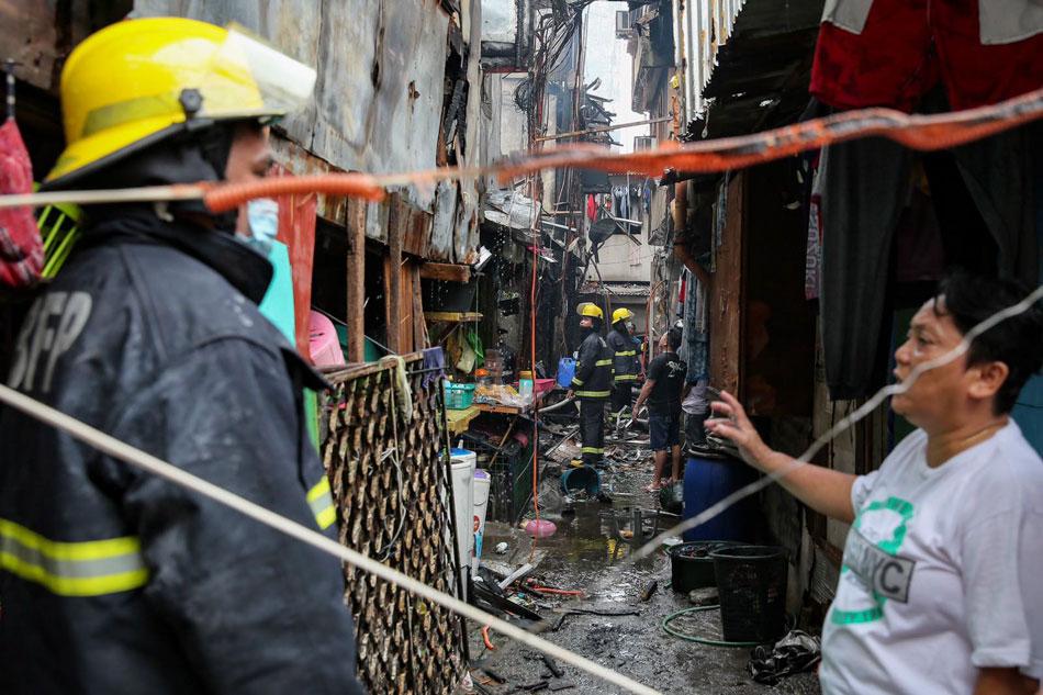 Fire hits Tramo, Pasay