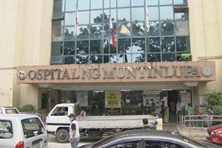 Ospital ng Muntinlupa declares overcapacity of COVID patients