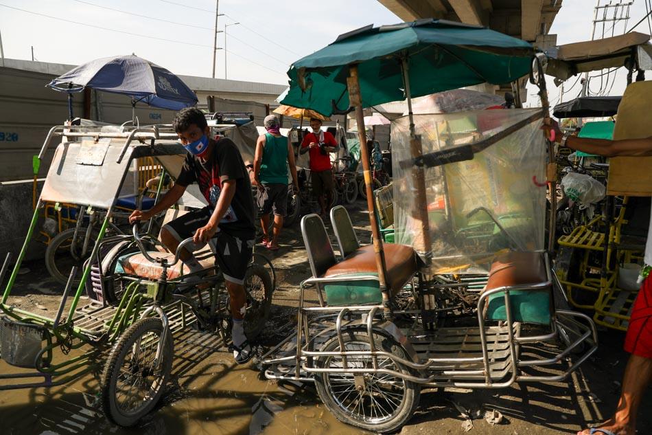 Pedicab drivers feel pinch of pandemic lockdown, uncertain future 1