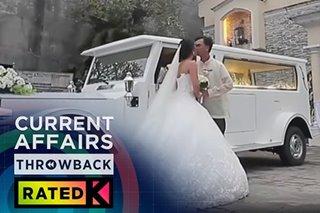 THROWBACK: Amazing na wedding | Rated K