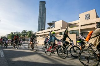 Advocates bike for press freedom