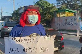Namamalimos na tsuper, umaapela ng tulong mabigyan ng hanap-buhay