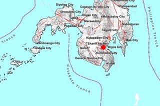 Magnitude 4.8 quake jolts Davao del Sur