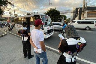 30 motorista, PUV nahuling lumabag sa health protocols sa Las Piñas