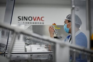 PH approves Sinovac COVID-19 vaccine for emergency use