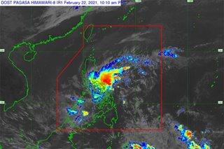 Tropical depression Auring to make landfall in Eastern Samar: PAGASA