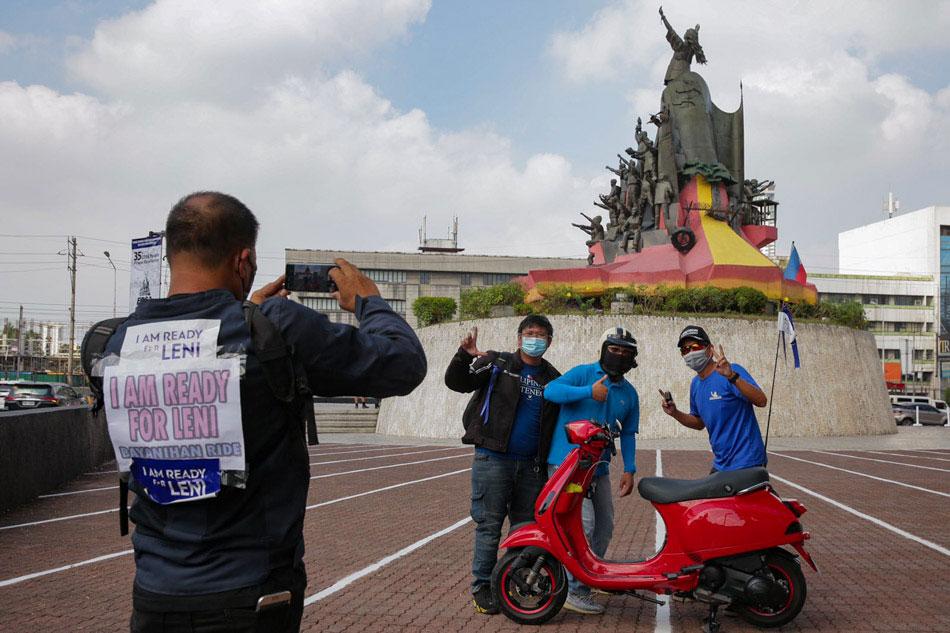 Robredo supporters organize 'Bayanihan Ride'