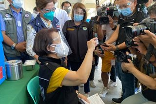 Parañaque health chief first in PH to be inoculated with AstraZeneca COVID-19 vaccine