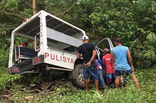 Patrol car pinasabugan sa Iloilo, 1 sugatan