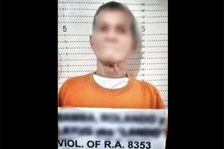 Lalaki, arestado sa panggagahasa sa 3-taong gulang na apo
