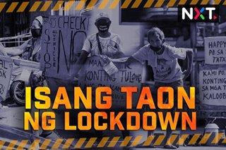 Isang taon ng COVID-19 lockdown sa loob ng 4 na minuto
