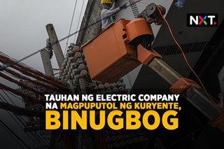 Kawani ng electric company na magpuputol ng kuryente, binugbog