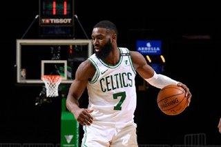 NBA: Jaylen Brown drains career-best 10 3s as Celtics torch Magic