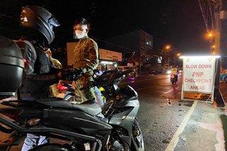 Pagbabantay sa checkpoints hinigpitan; mga di importanteng lakad ipinagbabawal
