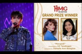 Daniella Balagtas' 'Marupok' named Himig 11th Edition best song