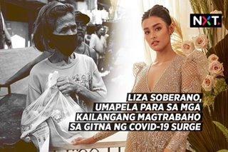 Liza Soberano, umapela para sa mga kailangang magtrabaho sa gitna ng COVID-19 surge