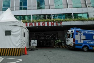 DOH: ICU beds nearly fully occupied at 14 of 21 Metro Manila hospitals