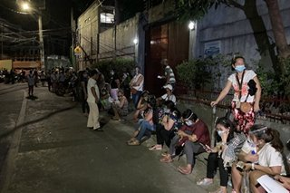 'Hungry, tired': QC, Manila residents queue until wee hours for COVID-19 aid