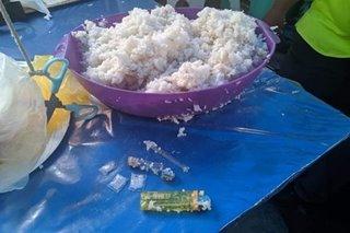 Kanin na dala ng 2 menor de edad sa Davao City natagpuang may shabu