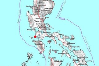 Quakes strike near Davao Occidental, Batangas; damage, aftershocks not expected
