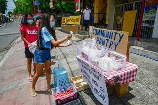Community pantries show reliance on neighbors instead of gov't during pandemic: senators