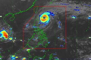 Bising weakens further over Philippine Sea