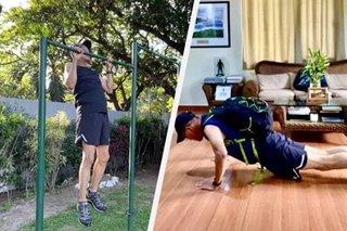 COVID-free Defense chief Lorenzana shares exercise routine