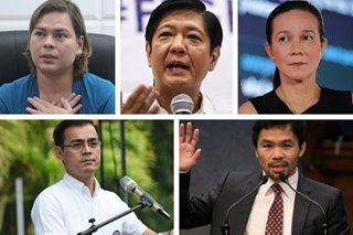 Name recall boosts Sara Duterte, other potential bets in 2022 polls: Pulse Asia