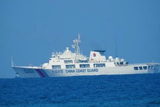 5 China Coast Guard ships still in West PH Sea, task force says
