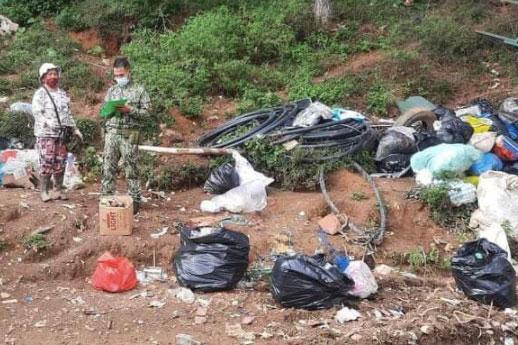 Patay na sanggol natagpuan sa tambakan ng basura sa Baguio 1