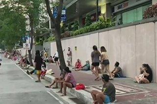 Community pantry ng ABS-CBN Lingkod Kapamilya maagang pinilahan