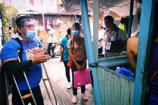 Polio survivor braves virus threat, goes house-to-house to fight PH vaccine scare