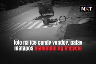 Lolo na ice candy vendor, patay matapos mabundol ng tricycle