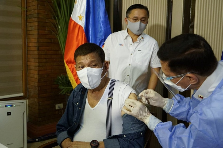Duterte may get second dose from Sinovac if Sinopharm fails to get FDA nod: vaccine expert - ABS-CBN News