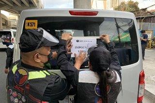 6 na kolorum na shuttle service nasita sa operasyon ng I-ACT sa Maynila