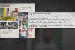 Tindero ng saging na nag-ambag sa community pantry, hinangaan