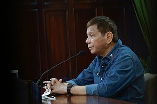 #DuterteDuwag? He has nothing to prove, says Palace