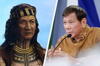Duterte claims 'Lapulapu is Tausug'