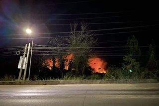 Grassfire sumiklab sa Cauayan City, Isabela