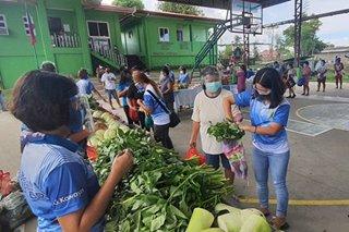 Community pantry sa Batangas inilunsad mula sa donasyon ng mga OFW